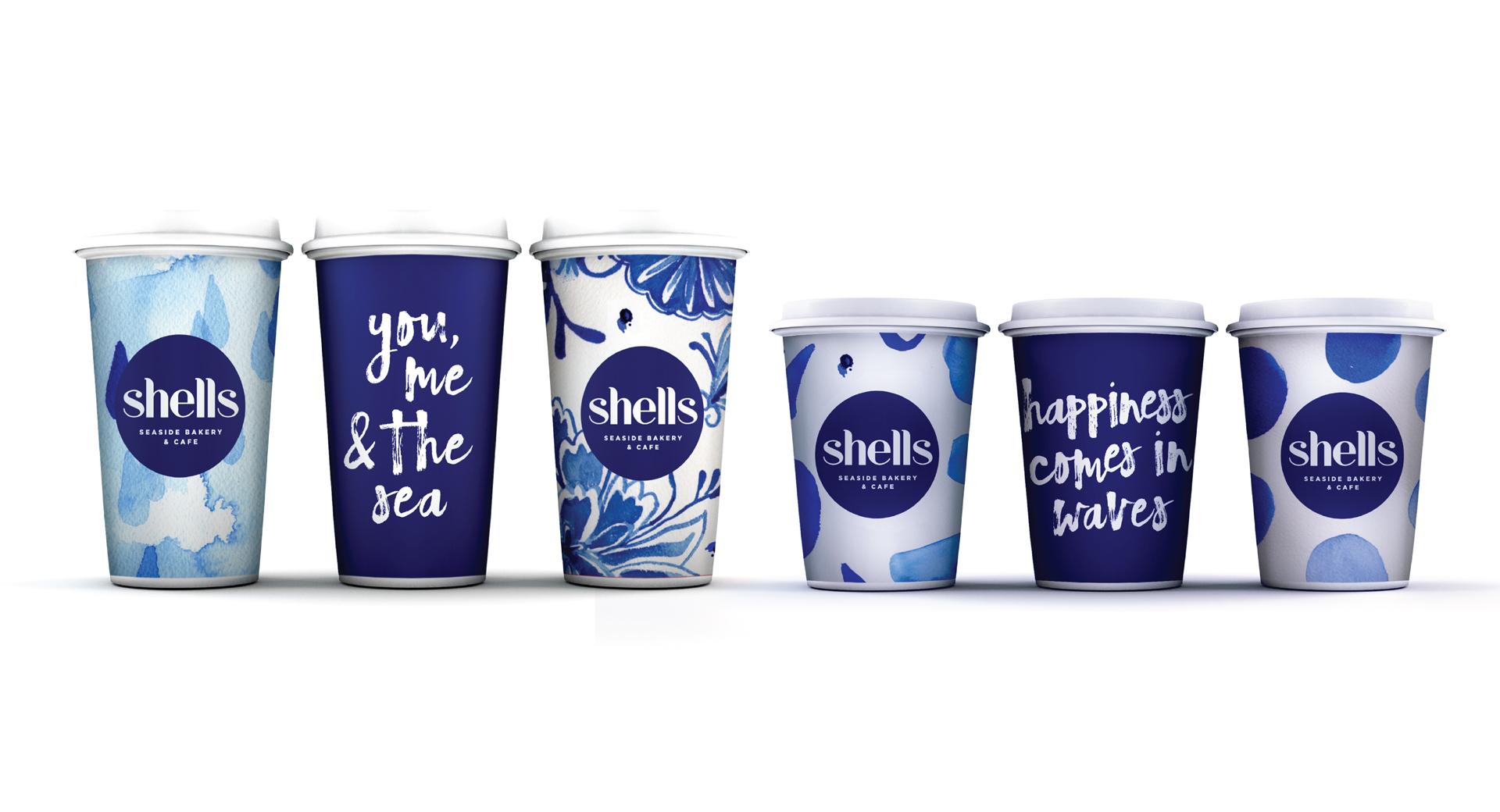 shells cafe rebrand